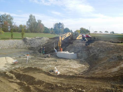 Revitalizace rybníka p.č. 554